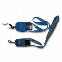 China Mobile Sock Lanyard with Polyester Strap and Mobile Holder Sock, Used to Pack Mobile Phone on sale