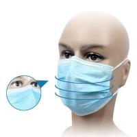 Best Waterproof Disposable Medical Mask For House Cleaning / Infant And Elderly Care wholesale