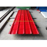 China Sound Insulation Corrugated Metal Roofing Colour Coated Steel Roofing Sheets on sale