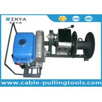 China 1 Ton Portable Gasoline Cable Winch Puller With Yamaha Engine on sale