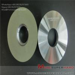 Best Ceramic bonded diamond grinding wheel polishing hard and brittle workpiece Alisa@moresuperhard.com wholesale