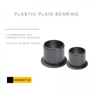 Best Sleeve Plastic Plain Bearing with Flange, High Quality, Customized wholesale