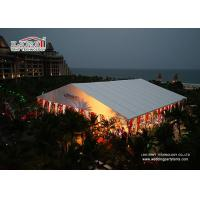 Best Summer Outdoor Wedding Canopy Marquee Aluminum Structure , Easy Up Install Big Event wholesale