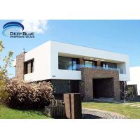 Best Luxury Prefab Steel Houses Prefabricated Smart House AS / NZS , CE Standard wholesale