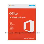 Best English Professional Office 2016 Retail Box PKC FPP Origianl Key wholesale