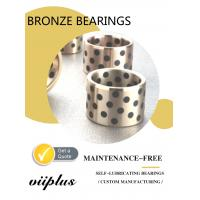 Best Graphite Plugged Solid Lubricant Bearings Extremely High Load Capacity wholesale