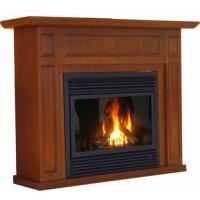 China Electronic Ignition Direct Vent Gas Fireplace For Heating NG / LPG Fuel on sale