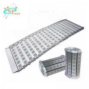 Best Inclined Flat Aluminum Folding Truss Board Portable Loading Entrucking wholesale