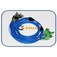 Buy cheap 5.0mm Armored 8 Fibers FC Fiber Optic Patch Cable Singlemode Type Blue product
