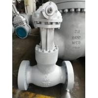 China Cast Steel WCB Globe Valve Presure Seal Bonnet,Plug Disc Flanged Connection,1500lb on sale