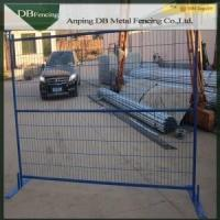 Best Multi Colored Temporary Yard Fence / Building Site Fencing Canada Standard wholesale