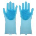 Best Magic Heat Resistant  Silicone Dishwashing Gloves Washing Cleaning Gloves wholesale