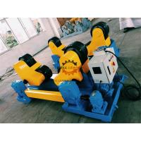 China Automatic Pipe Welding Rotator For Turning Long Pipes / Tanks / Shells Body on sale