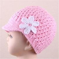 China Newsgirl Crochet Hat on sale