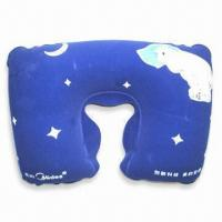 Best PVC Comfortable Neck Pillow with 100% Polystyrene Beads Filling, Available in Various Colors wholesale