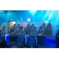 Best Black Motion Seat Cinema 5D Simulator System With Three Dimensional Movies wholesale
