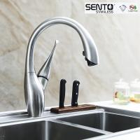 Best SENTO New Design kitchen sink faucet Swan faucet spray out for US MARKET wholesale