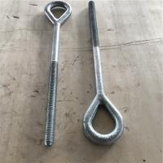 galvanized steel forged electric line hardwares eye bolts eye bolt