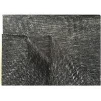 Best Black White Knit Stretch Wool Fabric With Hong-Kong Style 73% Wool18 Polyester 400 Gram wholesale
