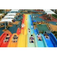 Best Classic Adult Rainbow Race Water Park Slide / Water Sports Equipment wholesale