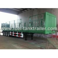 14m Storehouse Cargo Container Trailer 40l Air Tank Steel Celiac Plate Cost Effective