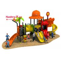 Best Theme Roof Outdoor Playground Equipment , Child Play Slide Multi - Functional wholesale
