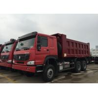 China HOWO Dump Truck 10 Wheels 371HP LHD 10 - 25 CBM 30 - 40tons For Mining Industry on sale