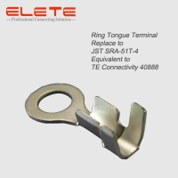 Buy cheap Ring Tongue Terminal connector Replace to JST SRA-51T-4 Equivalent to TE from wholesalers
