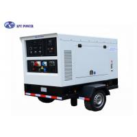Best 250A Silent Type Diesel Welding Generator Set , Electric 3 Phase Generator wholesale