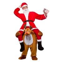 Best Christmas Ride On Deer Adult Animal Costumes For Halloween Party wholesale