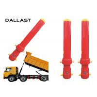 Best Dump Truck Telescopic Cylinder Multistage Stage 4 Chromed Hydraulic Cylinder wholesale