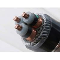 China 8.7/15kv Medium Voltage Power Cables 3 Core 3 X 95 mm2 CU SWA Electrical Cable Steel Wire Armoured on sale