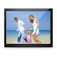 Best 15 Inch  Digital Photo Frames , USB LCD Picture Frames With Automatic Slide Show wholesale