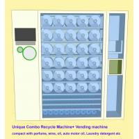 China Commercial Combo Vending Machine Recycle Empty Bottles & Sell Perfume , Motor Oil on sale