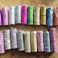 Best Fashion design Cutout Glitter Lace Tape Lace Decoration Tape Used for DIY Gift wholesale