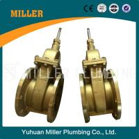 Best 5 inch flange type brass gate valve made in yuhuan miller plumbing ml-1404 wholesale
