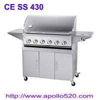 Best 6Burner BBQ on Cart with side burner wholesale