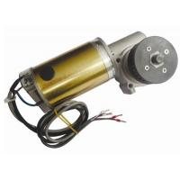 CW And CCW Round Brushed DC Automatic Sliding Door Motor 24V DC Worm Gear Box Long shaft