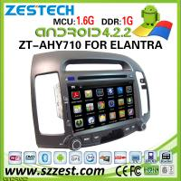 China ZESTECH car dvd player for hyundai elantra dvd player with gps 3G wifi Android 4.2.2 on sale