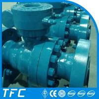 China low torque manual gear operated ball valve on sale