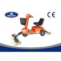 Best Ride On Driving Dust Cart Scooter Complanate Floor Mopping Machine Blue Color wholesale