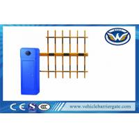 China 100% Heavy Duty Blue Automatic Vehicle Barrier Gate Driveway Barriers OEM Service on sale