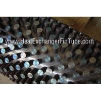 Buy cheap A106 Gr.B SMLS carbon steel gas fired stud tubes support Round / Oval / Pin type product