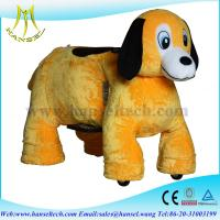 Hansel stuffed animals / riding on toy,battery operated ride animals