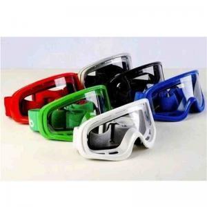 Best Unique Design Motocross Goggles , Custom Colorful Anti Glare Motorcycle Glasses wholesale