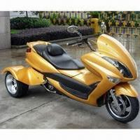 Best 250cc Motorcycle Trike with Automatic Transmission, Measures 2,300 x 1,200 x 1,030mm wholesale