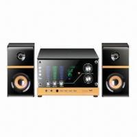 Best 2.1-channel Wooden Multimedia Speakers for Computer, with USB/SD and Double-karaoke Jack wholesale