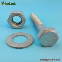 "Best 1-1/8"" ASTM F3125 TYPE A449 Hex Heavy Bolt with A563 DH Nut & F436 Washer wholesale"