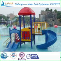 Buy cheap Children Alton Towers Waterpark Equipment Slip Slide 6 x 4 x 3m from wholesalers
