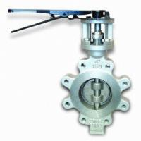 Best 60 Inch Stainless Steel Butterfly Valve BS 5155 Metal Seated Butterfly Valves wholesale